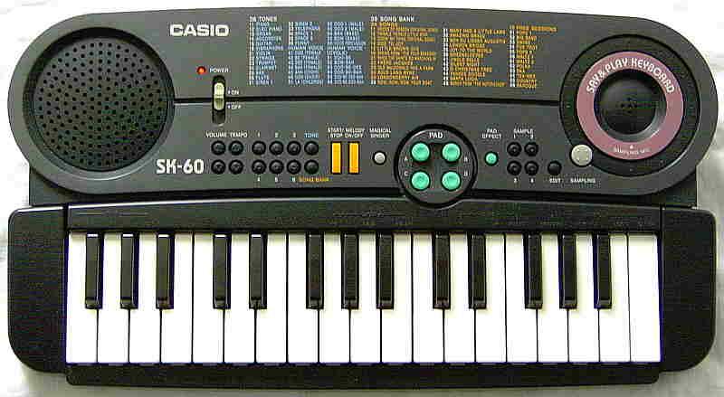 Casio - Say & Play Keyboard SK-60