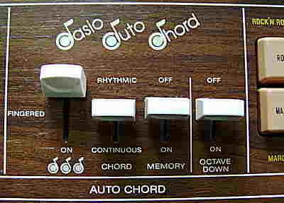 Casio Auto Chord