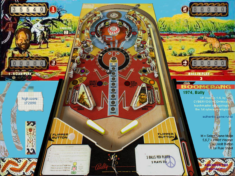 Visual Pinball games by CYBERYOGI =CO=Windler